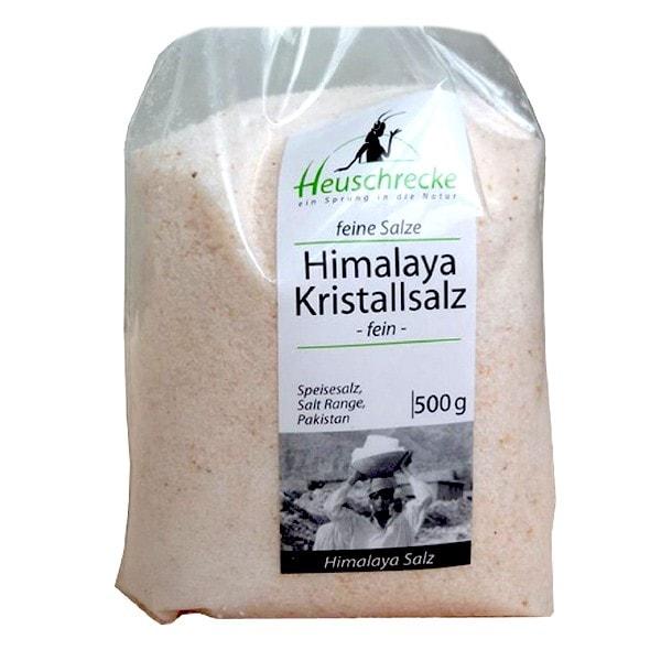Heuschrecke Himalaya Kristallsalz 500 G Speisesalze Naturkost