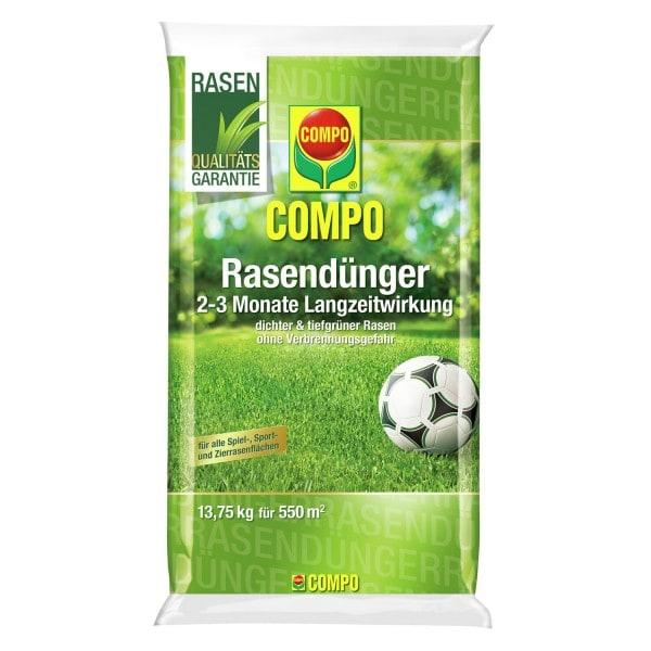 COMPO Rasendünger mit Langzeitwirkung Aktion 13,75 kg