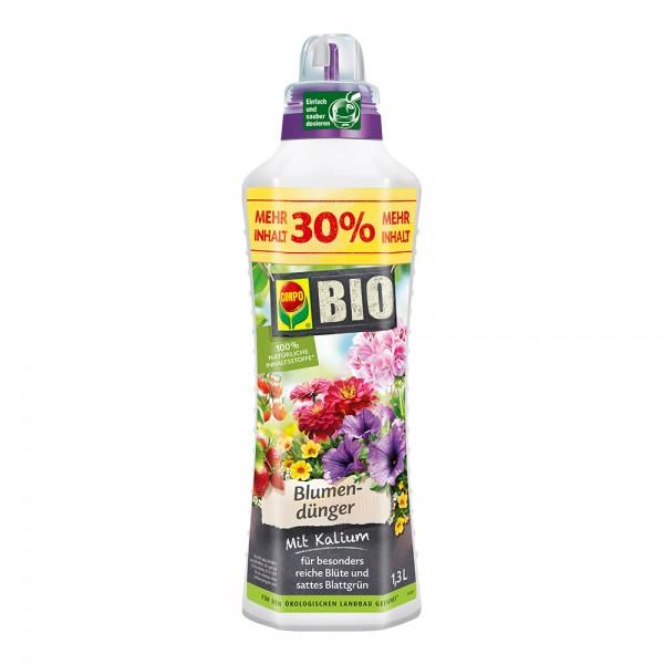 COMPO BIO Blumendünger 1,3 Liter Flasche