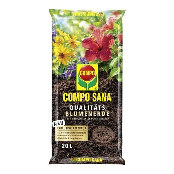 COMPO Sana Qualitäts-Blumenerde 20 Liter