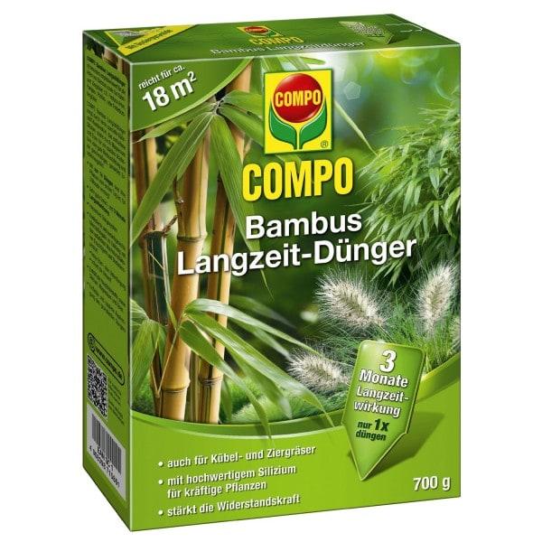COMPO Bambus Langzeit-Dünger 700 g Schachtel