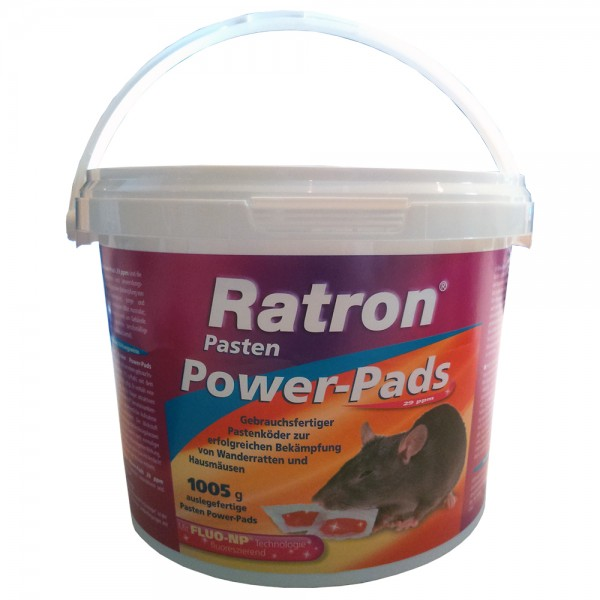 Ratron Pasten Power-Pads Pastenköder 67 x 15 g