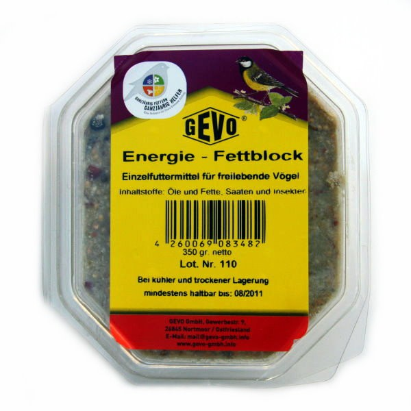 GEVO Energie-Fettblock 350 g