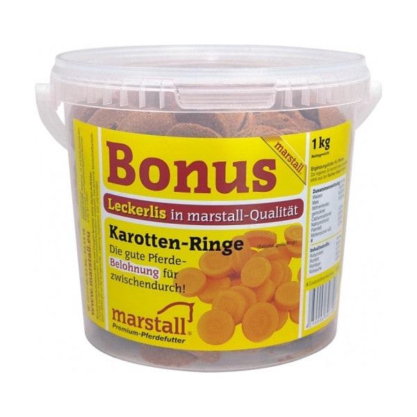Marstall Bonus Karotte 1 kg Eimer