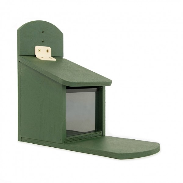 Eichhörnchen-Futterautomat aus Holz 303140119