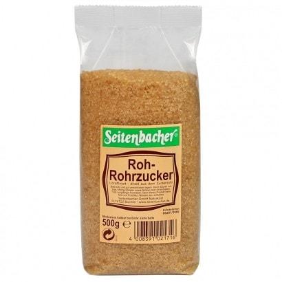 Roh Rohrzucker braun 500 g