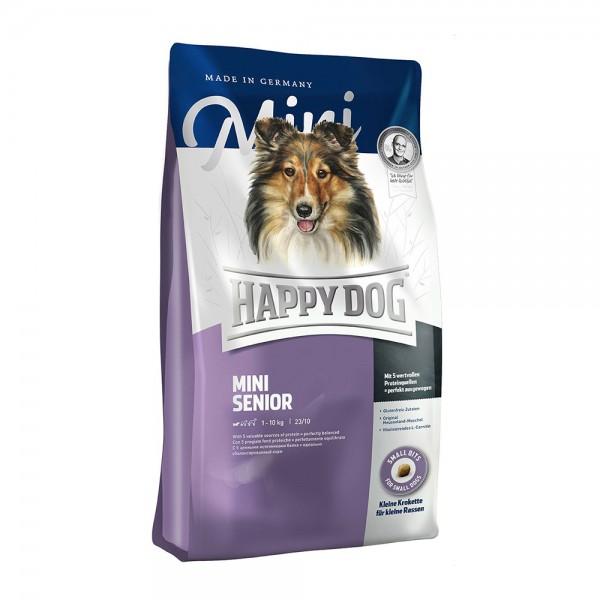happy dog mini senior 4 kg senior happy dog hundetrockenfutter hunde alles f r ihr. Black Bedroom Furniture Sets. Home Design Ideas