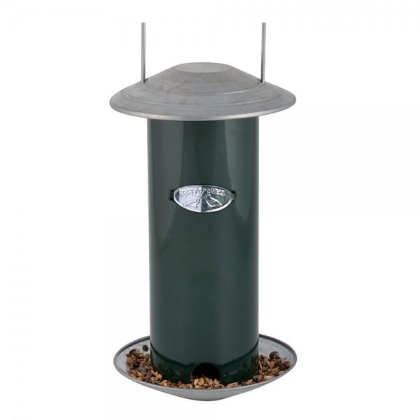 FB325 Vogelfuttersilo zum Hängen grün Lieferung ohne Futter